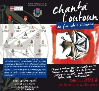 Chantà l'outoun . Calendario eventi